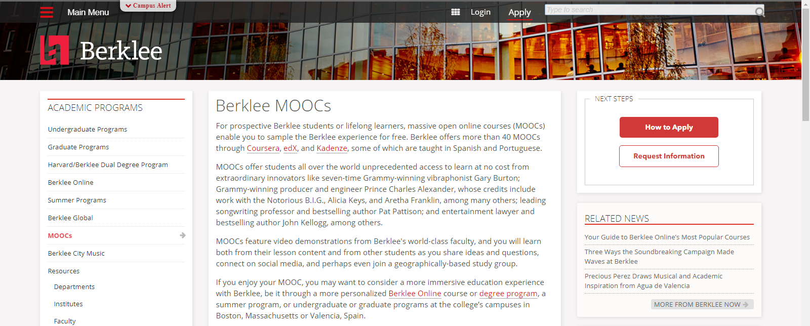 MOOCS Music Courses